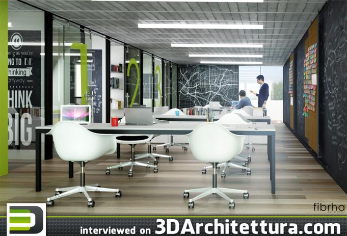 Oscar Juarez interviewd for 3D Architettura about 3D rendering