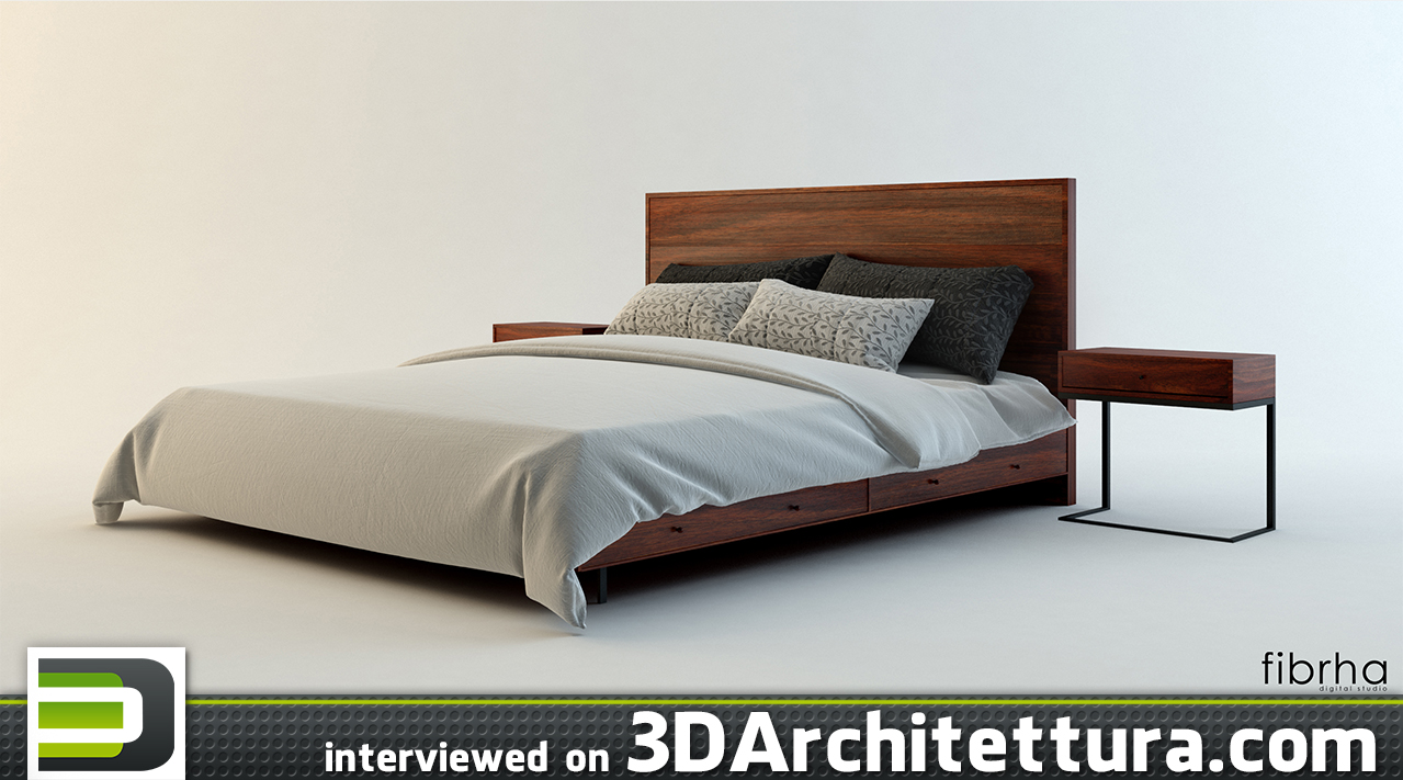 Oscar Juarez interviewed for 3D Architettura about 3D rendering