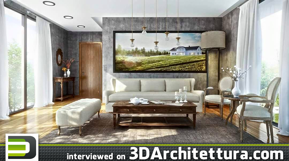 Ali Ihsan Degirmenci interviewed or 3D Architettura