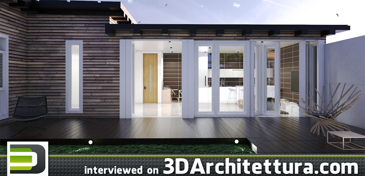 Jorge Morales interviewed for 3D Architettura