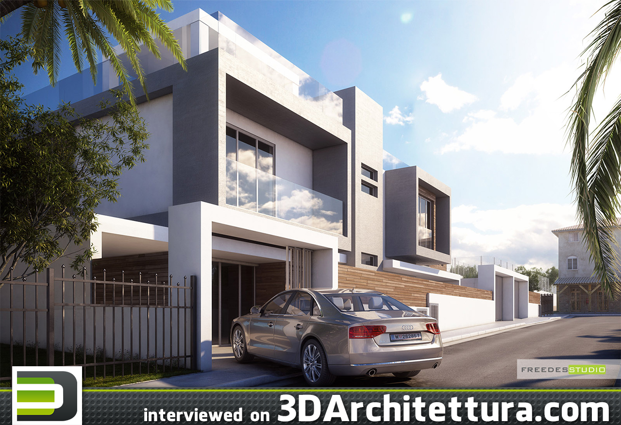 3D Architettura interviewed Artem Trishin from Freedes Studio about rendering and 3d
