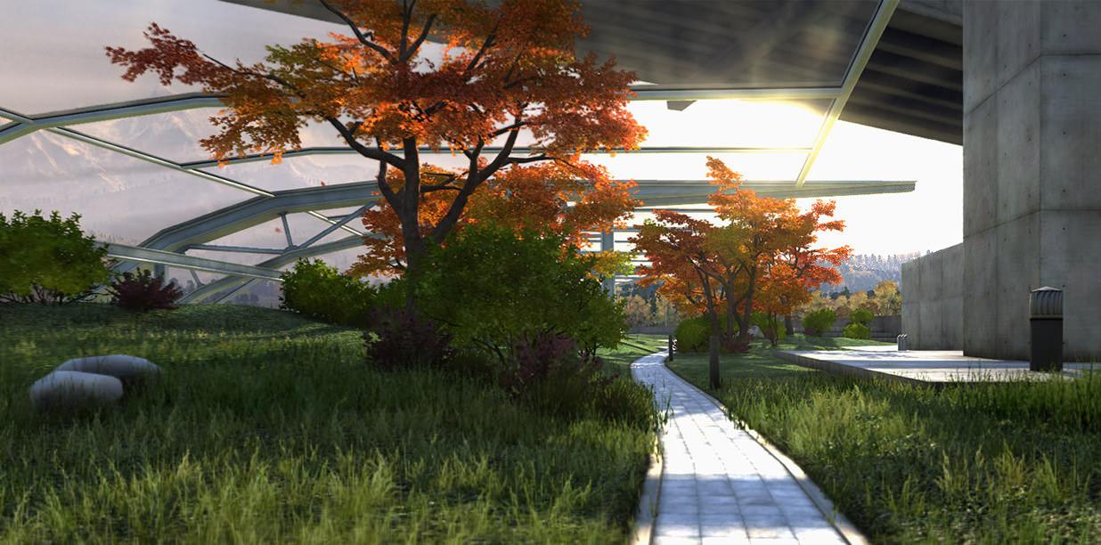 UNIGINE  02_landscape-design