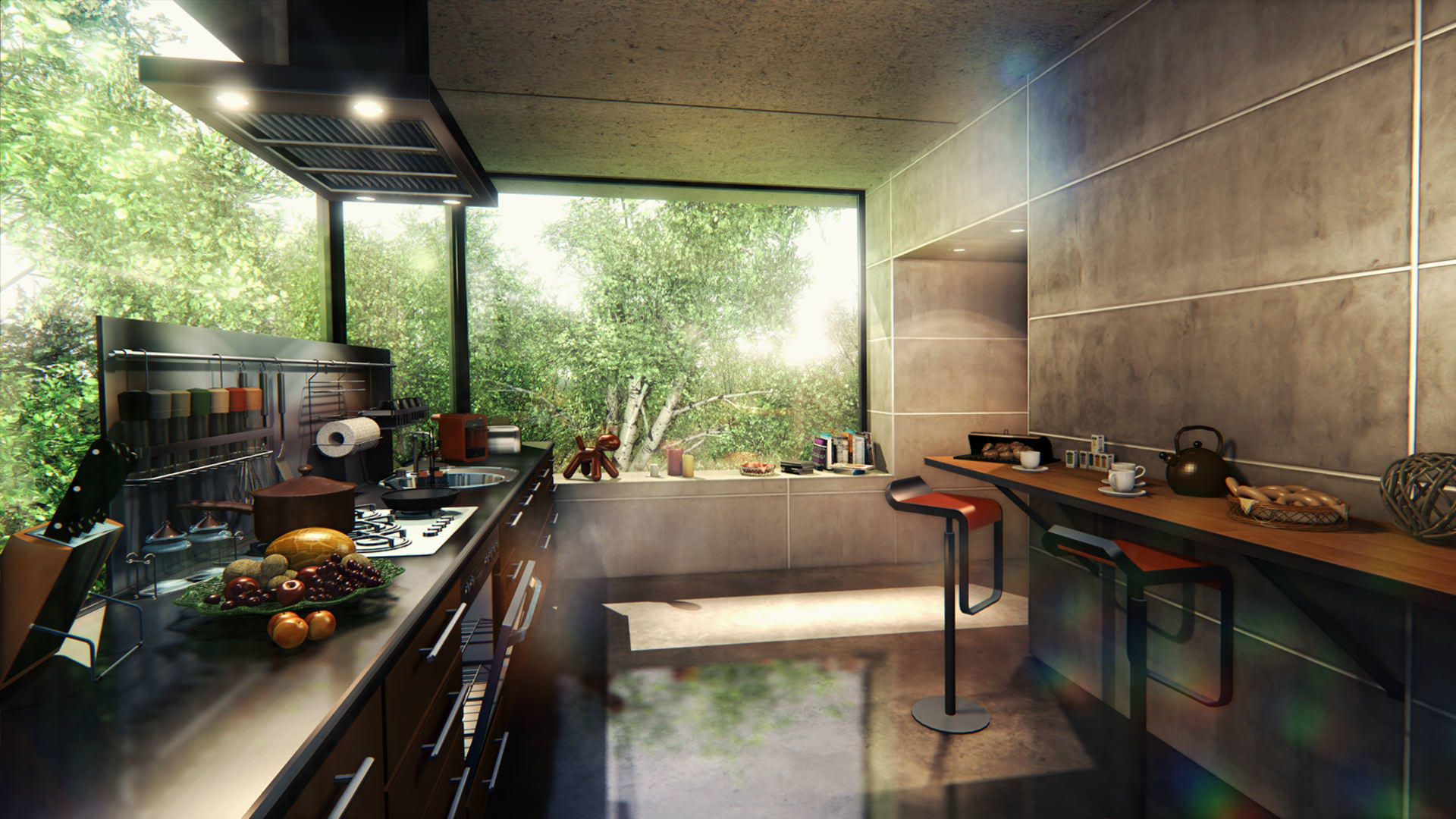 UNIGINE 03_interior-visualization_big