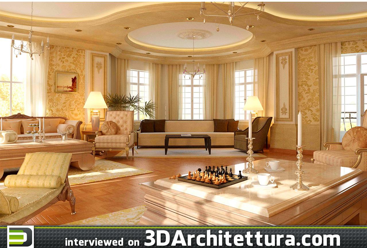 3D Architettura interviews 3d artist and architect Ahmed Tallal - architectural rendering, archviz, cg, 3d, render.