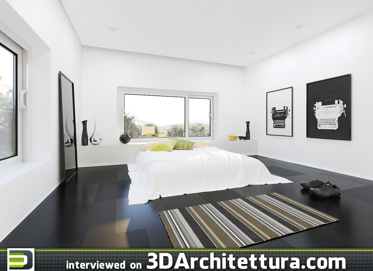 Lucas Silva interview for 3D Architettura: rendering, ArchViz, CG, architecture and design.