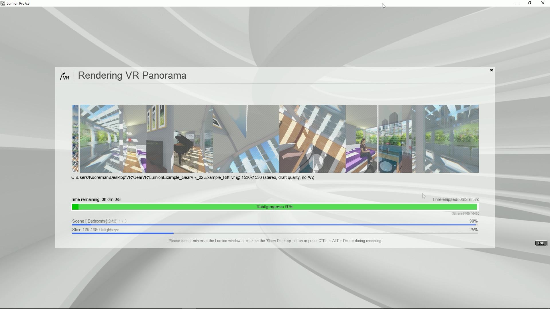 Lumion VR-panorama - Architectools - 3D Architettura
