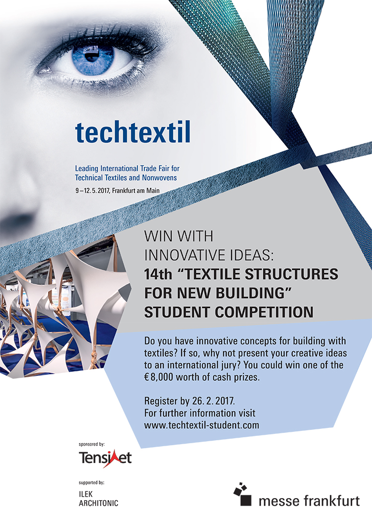 Techtextil Student Competition 2017 - Poster