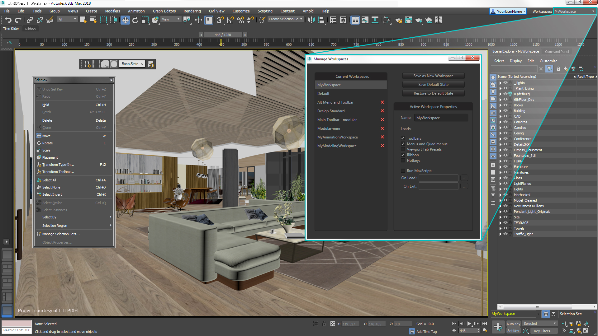 What 39 s new in autodesk 3ds max 2018 3d architettura for 3ds max design