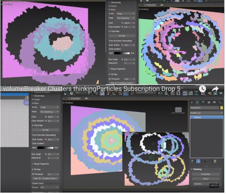 VB cluster texturemap