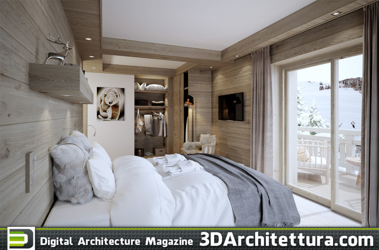 Valentinstudio: Chalet Bedroom