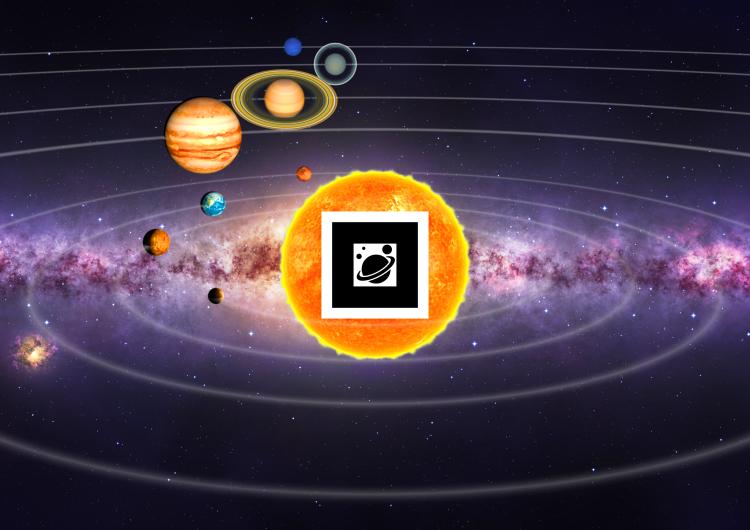 Blend4Web_planetarium_AR_marker