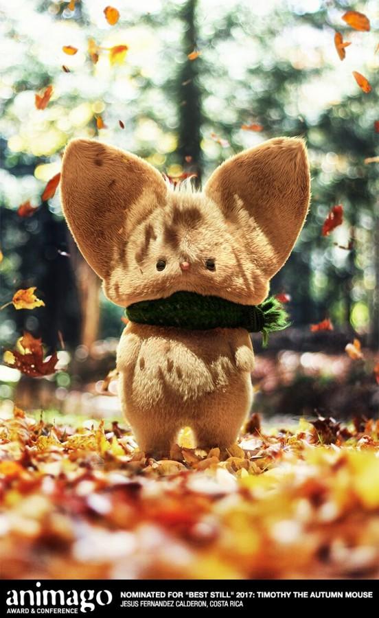 animago award: Timothy the autumn mouse - Jesus Fernandez Calderon - Costa Rica