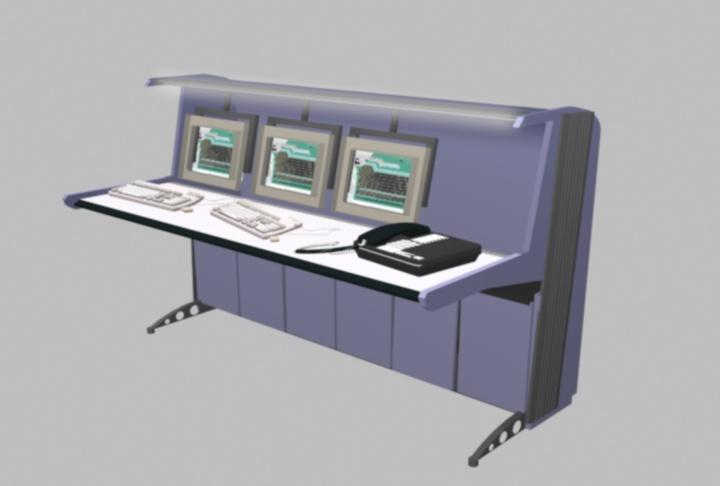 Clayton A. Hollister: NOC Console Model 2002