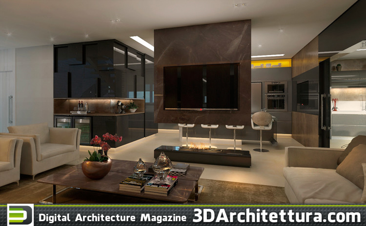 Luciano Santo: Industrial style house