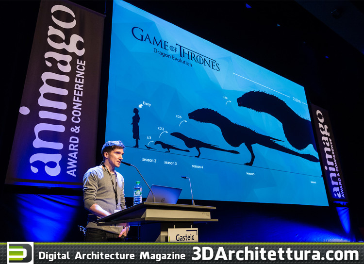 "Speaker Sebastian Lauer of Pixomondo - Sufracing the Dragons for ""Game of Thrones"""