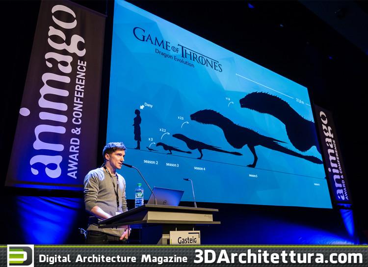 "Speaker Sebastian Lauer of Pixomondo - Sufracing the Dragons for ""Game of Thrones"""