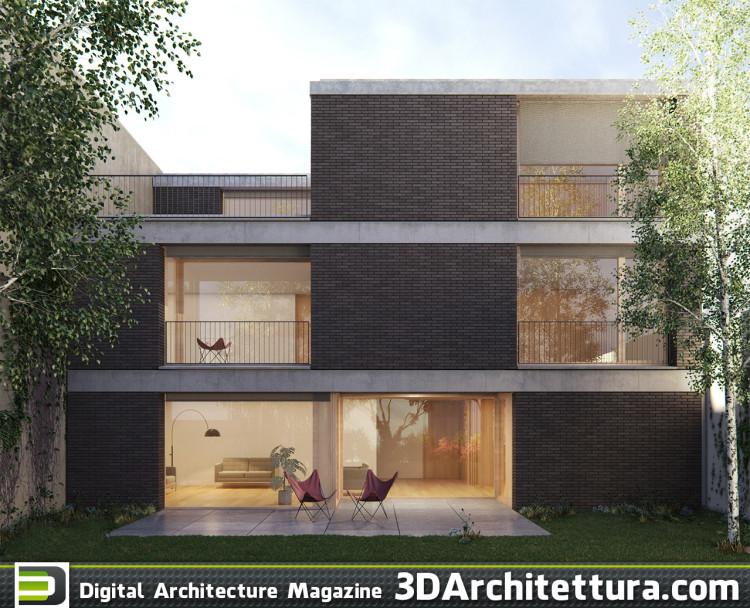 3darchitettura Okdraw Pero Alenquer house