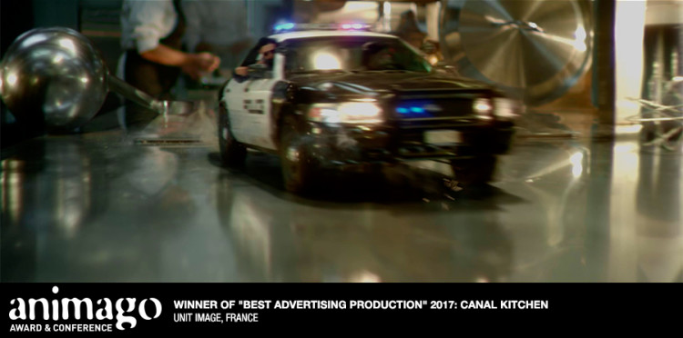 """Best Advertising Production  """"Canal Kitchen"""" Unit Image, France"""