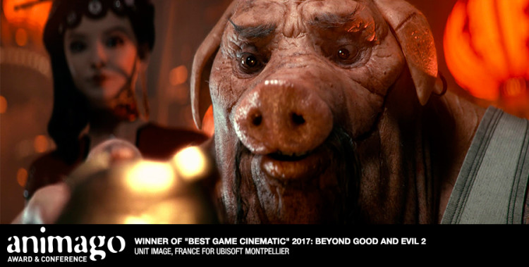 "Best Game Cinematic ""Beyond Good and Evil 2"" Cinematic Trailer Unit Image, France"