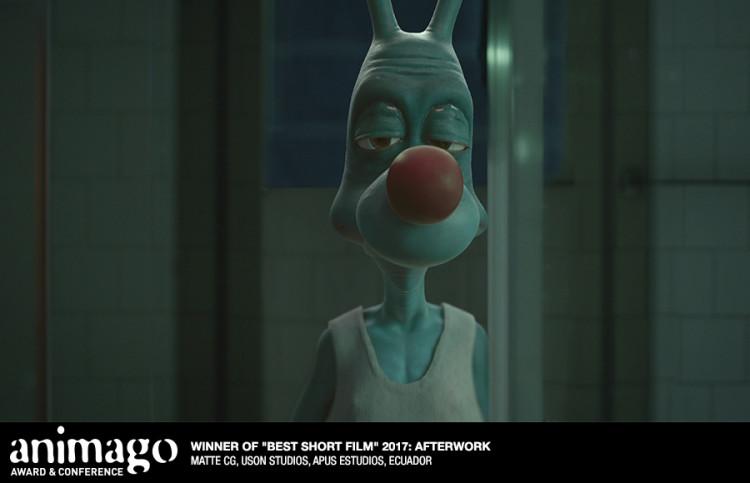 "Best Short Film  ""Afterwork"" Matte CG, Uson Studio, Apus Estudios, Ecuador, Peru, Spain"