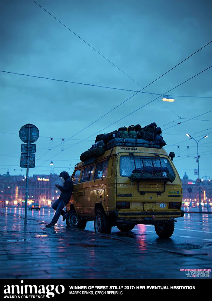 "Best Still ""Her Eventual Hesitation"" Marek Denko, Czech Republic"