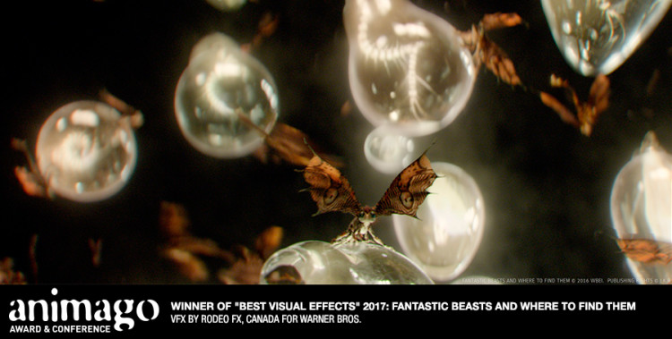"""Best Visual Effects """"Fantastic Beasts and Where to Find Them"""" Rodeo FX, Canada"""