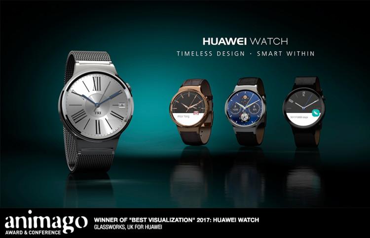 "Best Visualization  ""Huawei Watch"" Glassworks London, Great Britain"