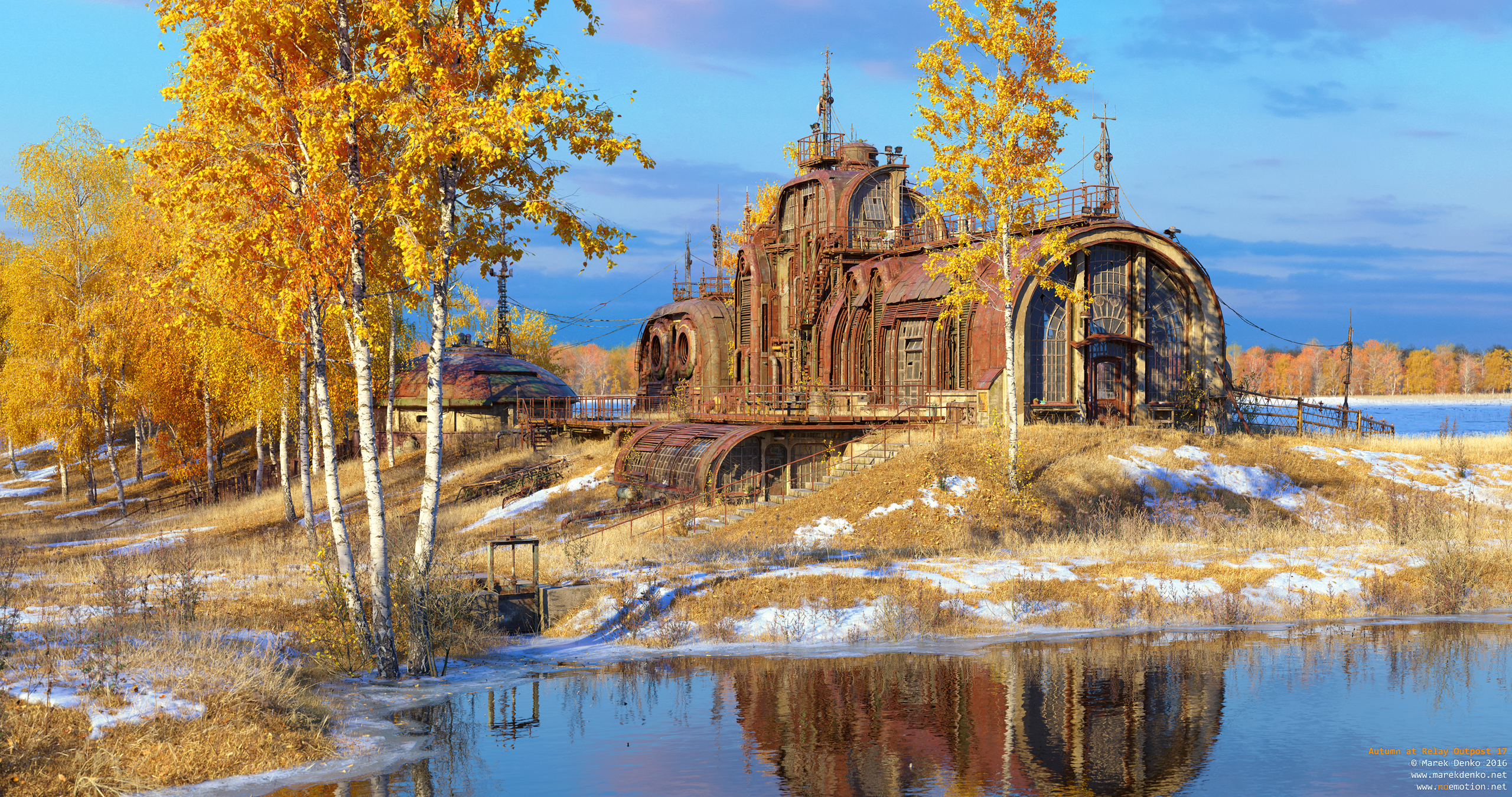 Marek Denko - Autumn at Relay Outpost