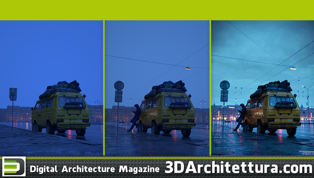 Marek Denko - Her Eventual Hesitation - making of - 3D Architettura interview