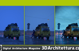 Marek Denko - Her Eventual Hesitation - making of - 3D Architettura interview