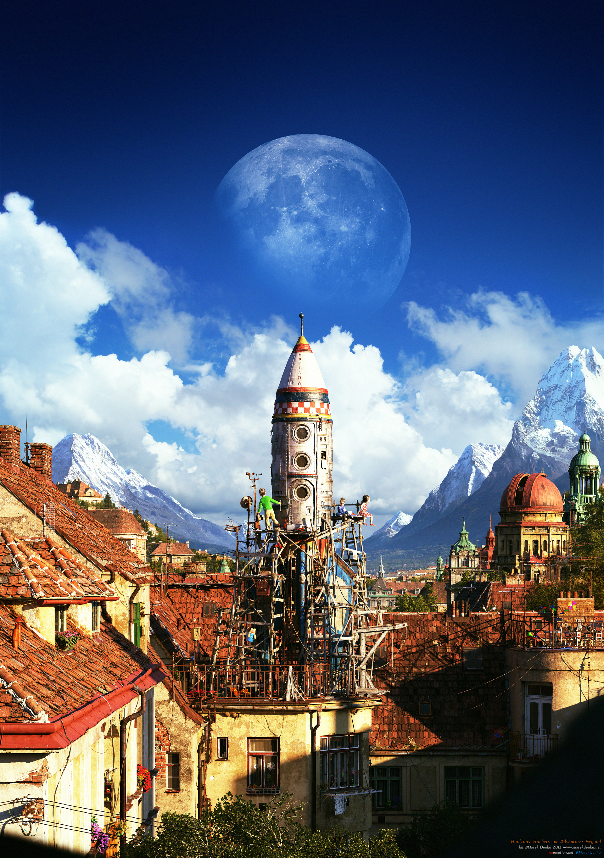 Marek Denko - Rooftops, Rockets and Adventures Beyond