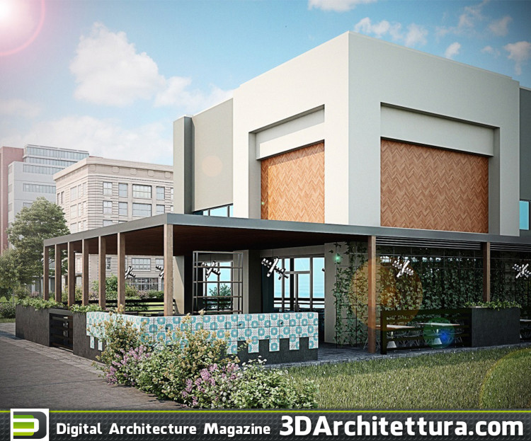 Concept design of multiple 3d cabin, container houses.  The 2d design was already done i just put effort of making the 3d and do the 3d rendering and visualization -  3dmax + VRay +Photoshop