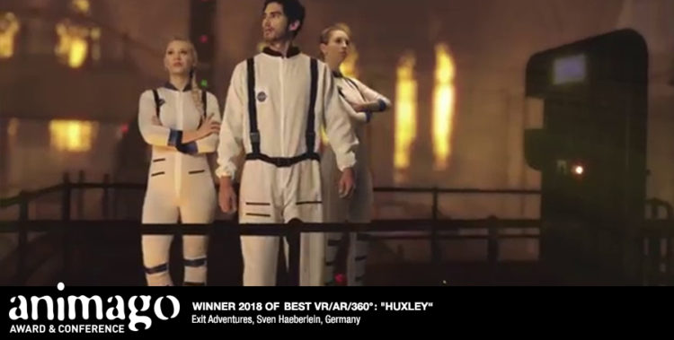Winner Best AR-VR-360 - Huxley