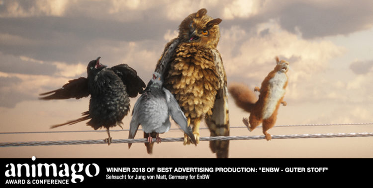 Winner Best Advertising Production - EnBW - Guter Stoff