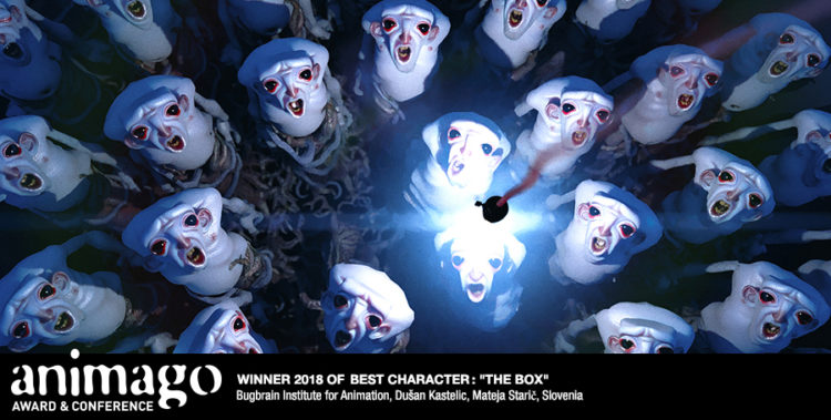 Winner Best Character - The Box