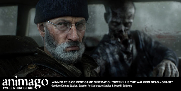 Winner Best Game Cinematic - The Walking Dead - Grant