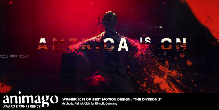 Winner Best Motion Design - The Division 2 - Der Untergang von Washington D.C