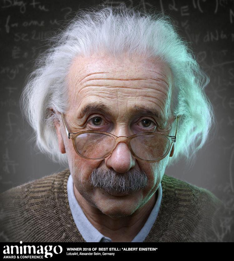 Winner Best Still - Albert Einstein