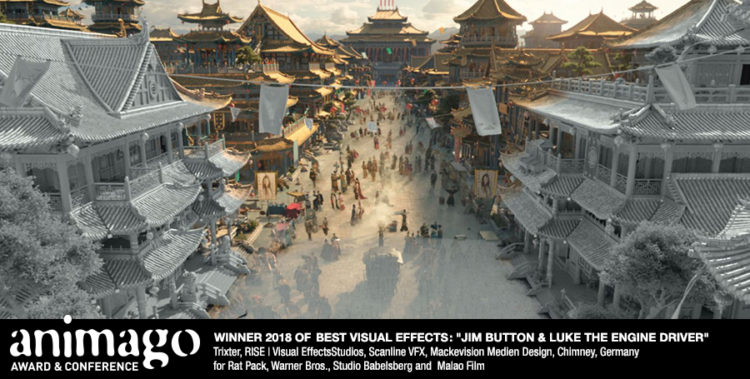 Winner Best Visual Effects - VFX from Jim Button and Lucas The Engine Driver