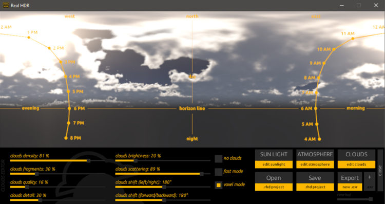 Real HDR 1.5 - clouds