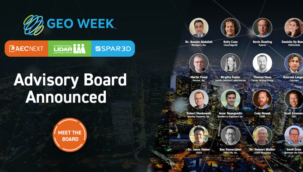 Geo Week Advisory Board