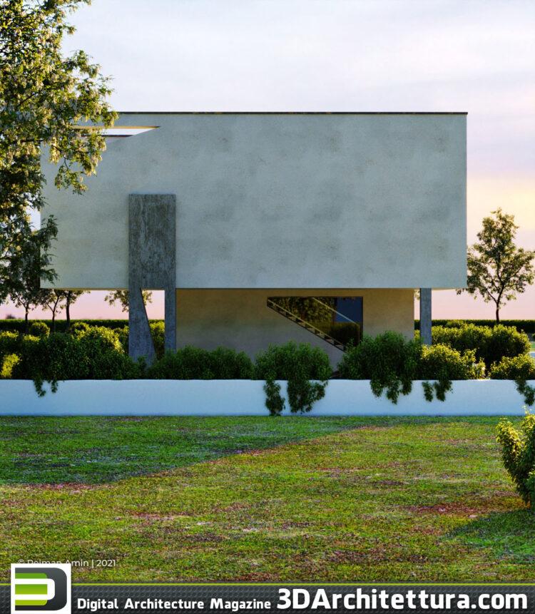 Peiman Amin on 3D Architettura